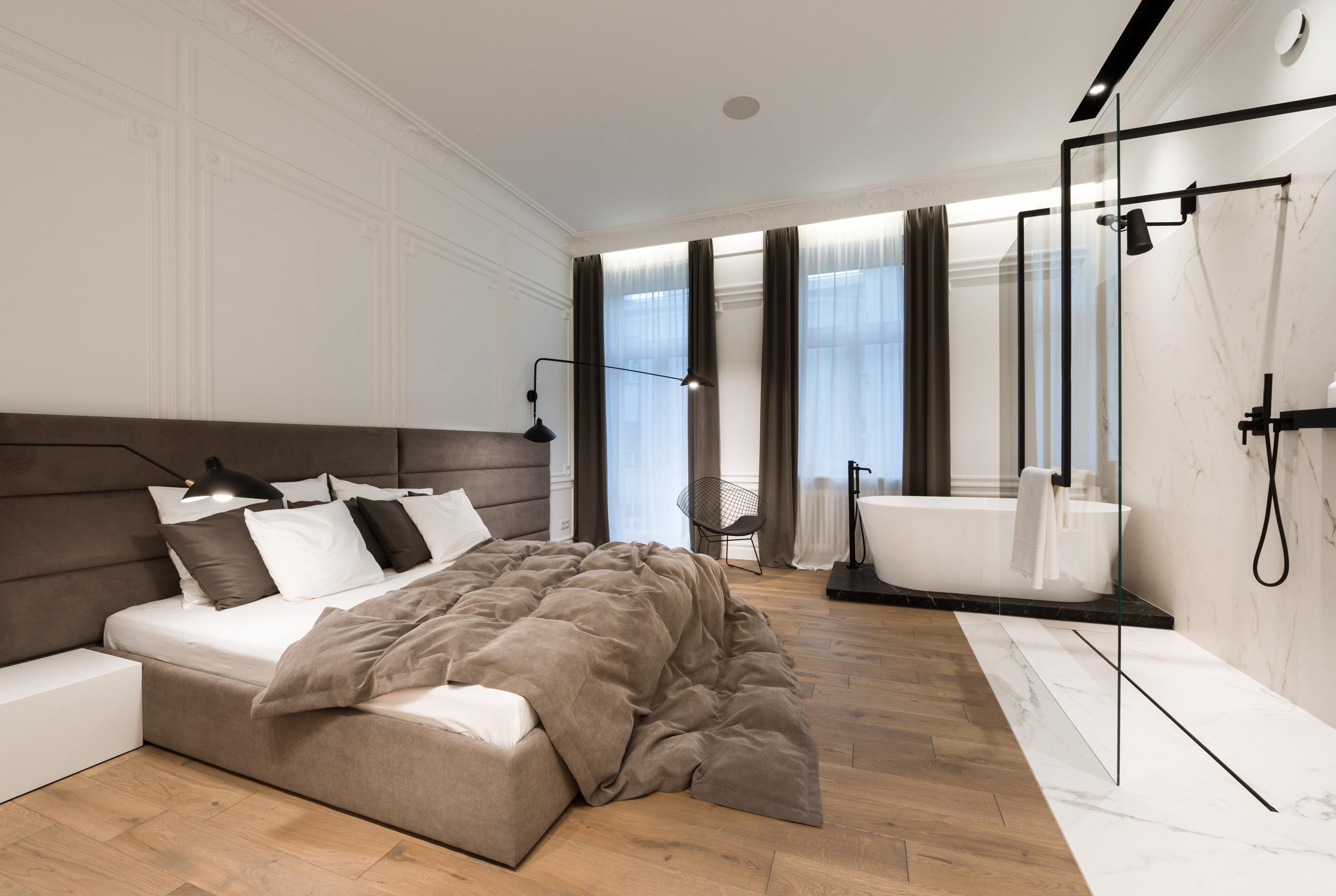 sypialnia przytulna - zdjęcie