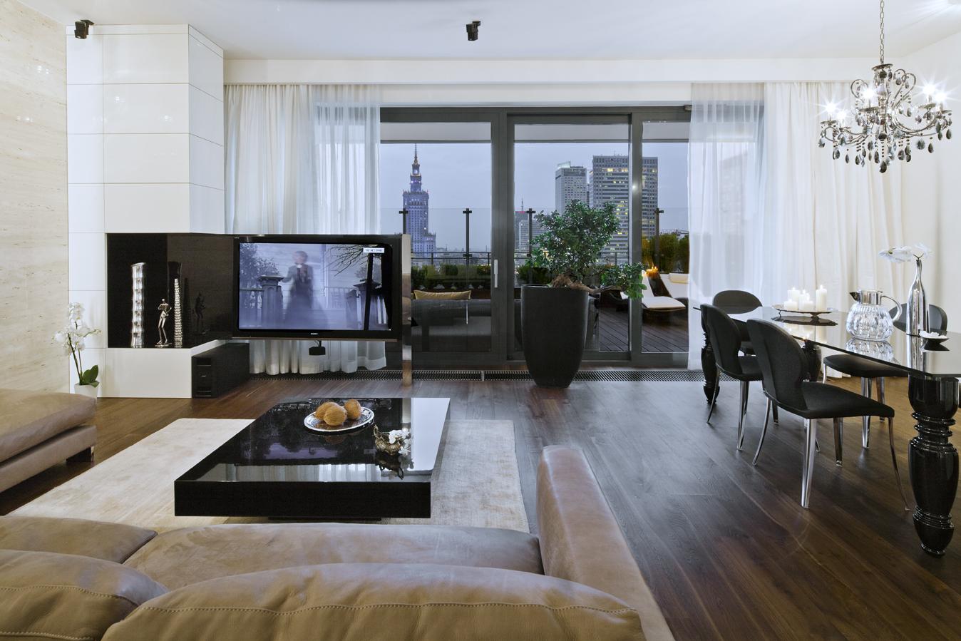wnętrze mieszkania w stylu eleganckim
